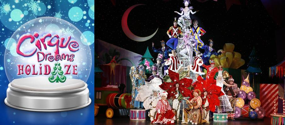 Cirque Dreams Holidaze at Luther F. Carson Four Rivers Center
