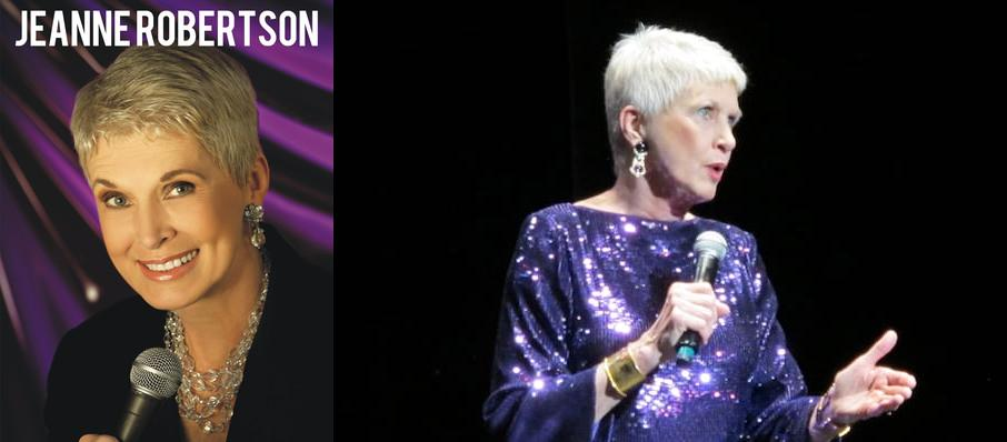 Jeanne Robertson at Luther F. Carson Four Rivers Center