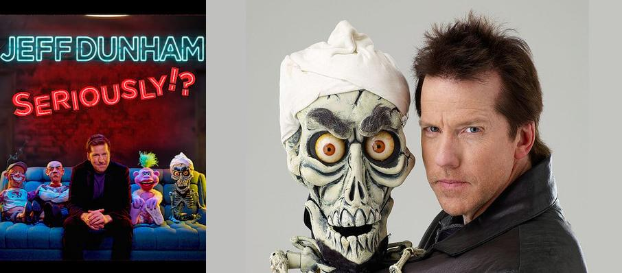 Jeff Dunham at Luther F. Carson Four Rivers Center