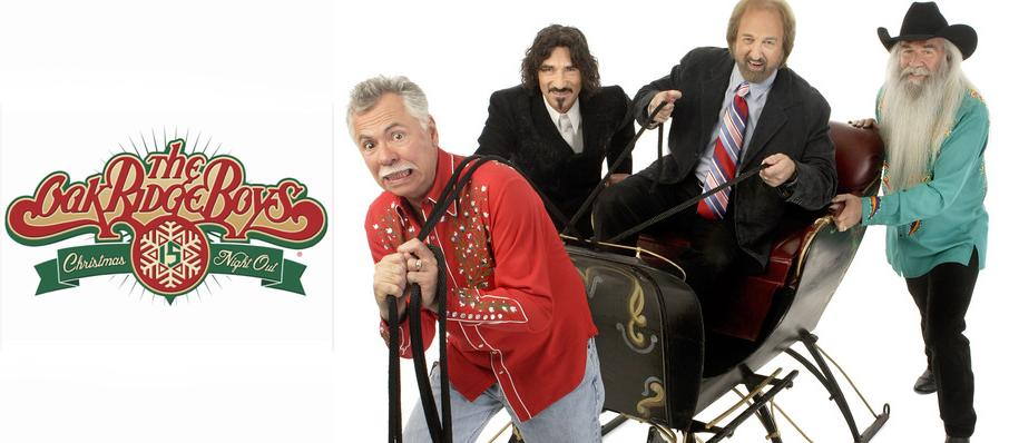 The Oak Ridge Boys Christmas Show at Luther F. Carson Four Rivers Center