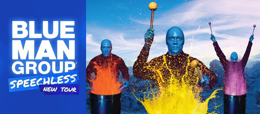 Blue Man Group at Luther F. Carson Four Rivers Center