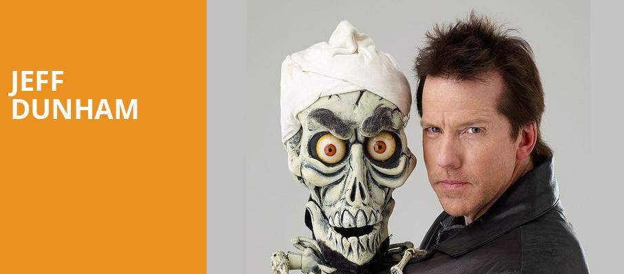 Jeff Dunham, Luther F Carson Four Rivers Center, Paducah