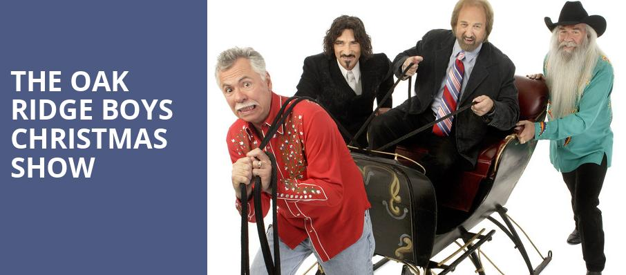 The Oak Ridge Boys Christmas Show, Luther F Carson Four Rivers Center, Paducah