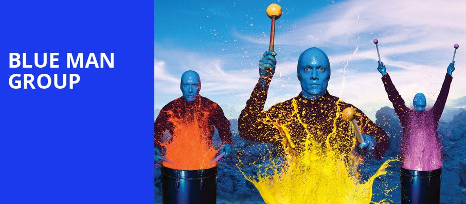 Blue Man Group, Luther F Carson Four Rivers Center, Paducah